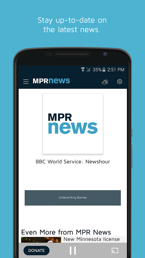 MPR Radio- screenshot
