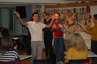 Photo: Mohammad Mirzazadeh framførte WRRR på Litteraturhuset 5. mars 2012