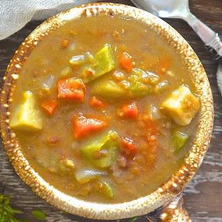 Mushroom Lentil Soup Crock Pot Recipes
