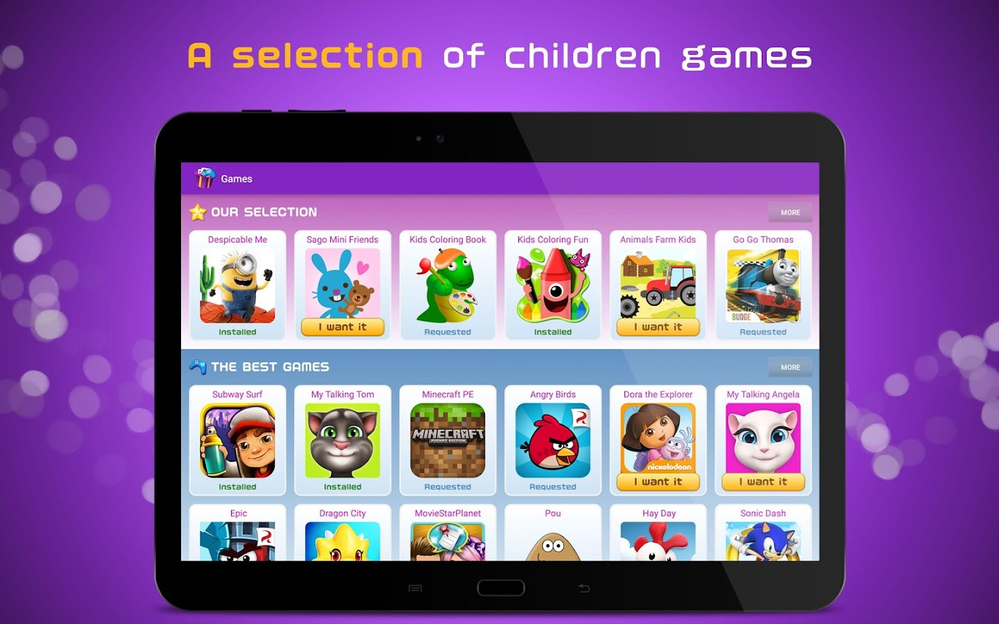 App Kids: Videos & Games- screenshot