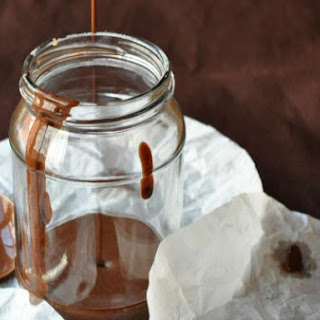 Easy Hot Fudge Sauce + Coconut + Sea Salt