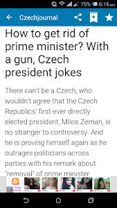 Czech Newspapers screenshot 5