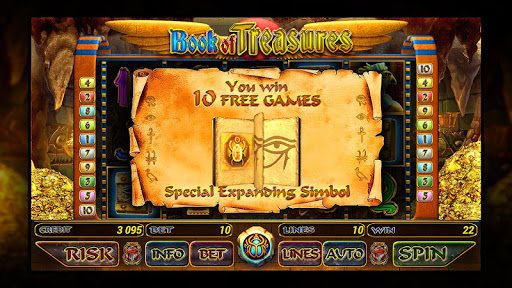 Book of Treasures slot - screenshot