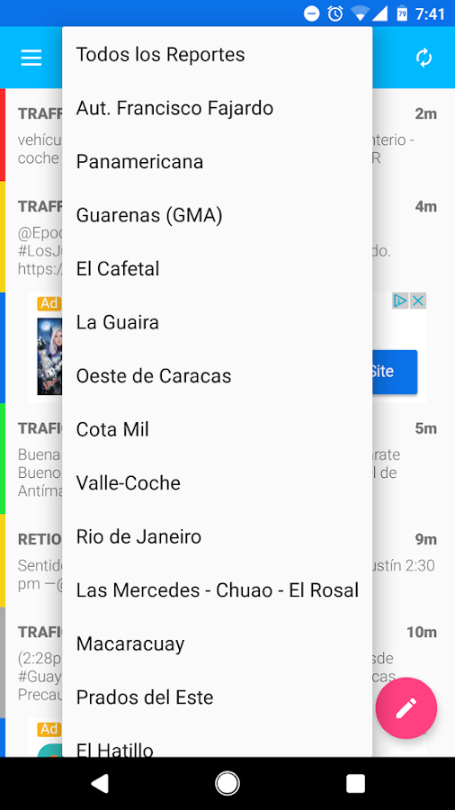 TraficoCCS- screenshot