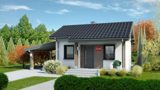 projekt Dom przy Bukowej 35A