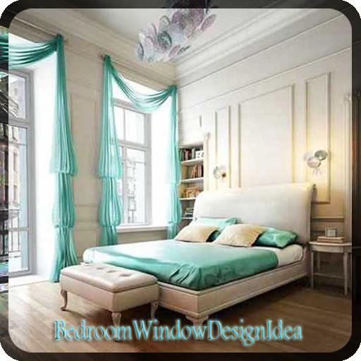 创意设计卧室的窗户 生活 App LOGO-硬是要APP