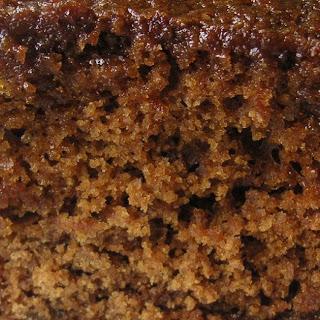 Traditional Ginger Cake.
