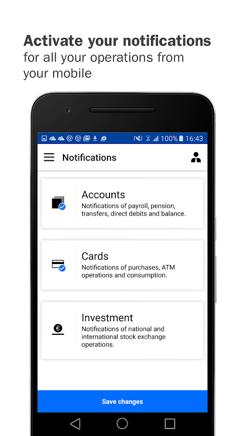 Banco Sabadell App. Your mobile bank- screenshot