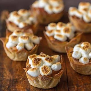 Mini Sweet Potato Souffle Cups.