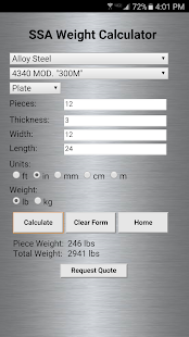 App Service Steel Calculator APK for Windows Phone