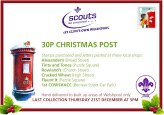 Scouts launch Xmas card service