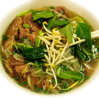 Pho Bo (Vietnamese Beef Noodle Soup).
