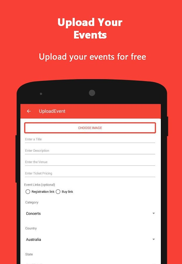 Events Meter – Events and Event Photo Sharing- screenshot