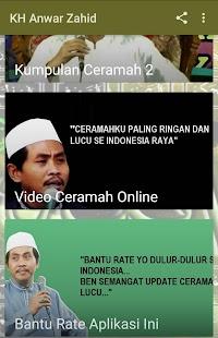 KH Anwar Zahid Kajian Ceramah Lucu Video Audio Mp3 - náhled