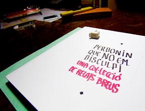 Photo: Fem els llibres del futur: relats breus, aforismes i poemes escrits a mà · des del 2002 ·