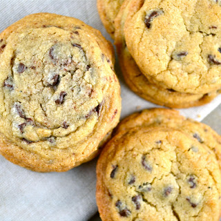 Crispy, Chewy, and Soft Chocolate Chip Cookies.