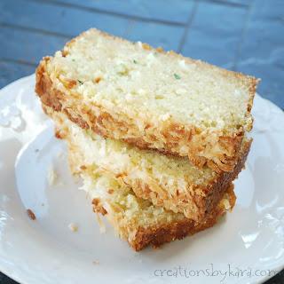 Pina Colada Zucchini Bread.