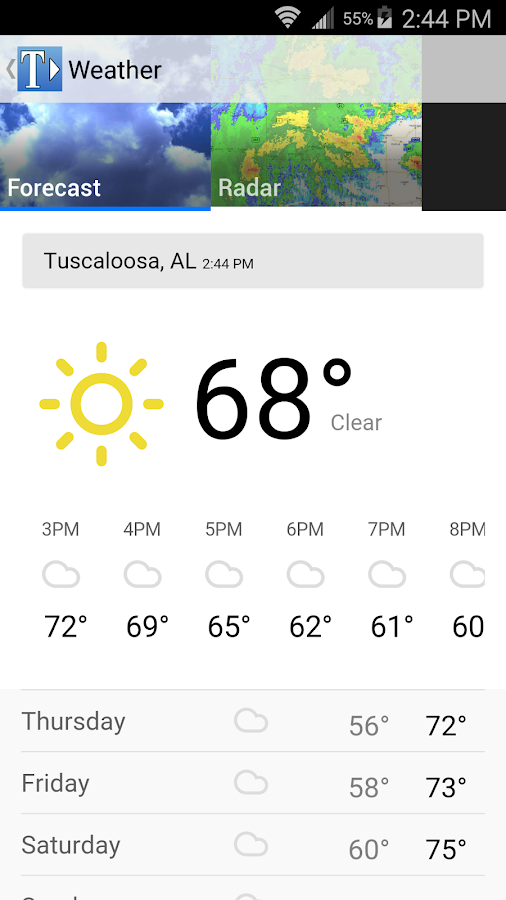 The Tuscaloosa News- screenshot