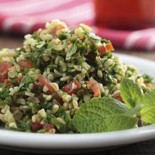 Ikarian Tabouli Salad.