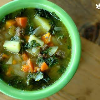 Potato Beef Kale Soup Recipes.