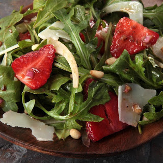 Shaved Fennel and Strawberry Salad
