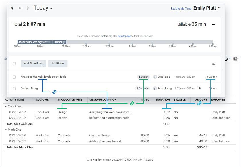 Ускорьте выплату зарплат и выставление счетов с новой интеграцией TMetric+Quickbooks