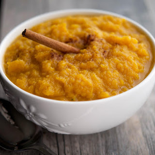Whiskey Cinnamon Mashed Butternut Squash