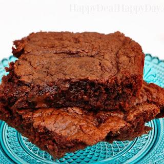 4 Ingredient Nutella Brownies.