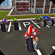Sci Fi Bike Driving School 3D