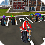 Sci Fi Bike Driving School 3D Icon