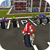 Sci Fi Bike Driving School 3D