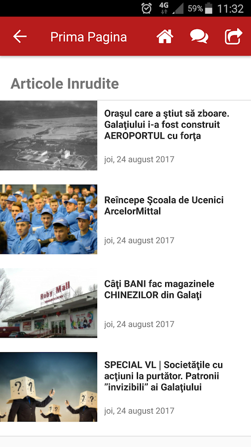 Viața Liberă- screenshot