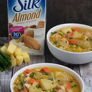 Miso Salmon & Vegetable Stew.