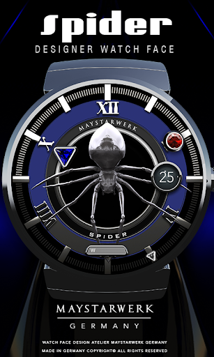 Spider Watch Face