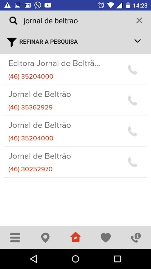 GPS - GUIA TELEFONICO- screenshot