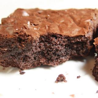 Seriously Fudgy Chocolate Brownies.