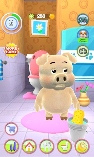 Talking Piggy apktram screenshots 7