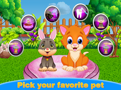Baby Pet Care Service-Animal Caring games - náhled