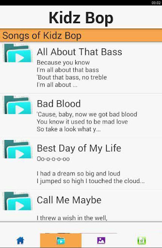 Kidz Bop Songs