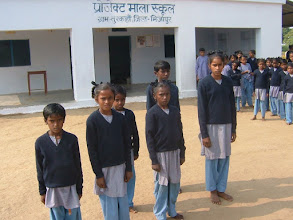 Photo: Indian children always want to make the most of opportunities for education