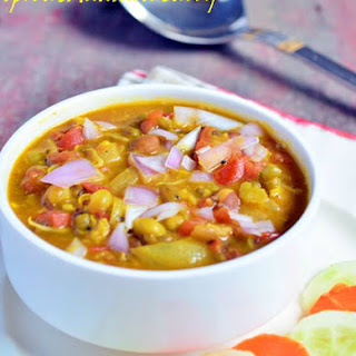Sprouts masala curry recipe,how to make sprouts masala |Indian sprouts recipes.
