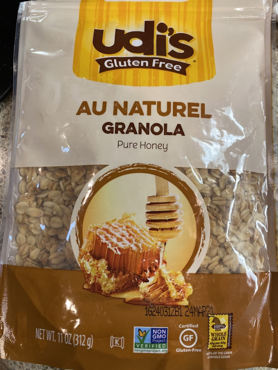 Au Naturel Granola