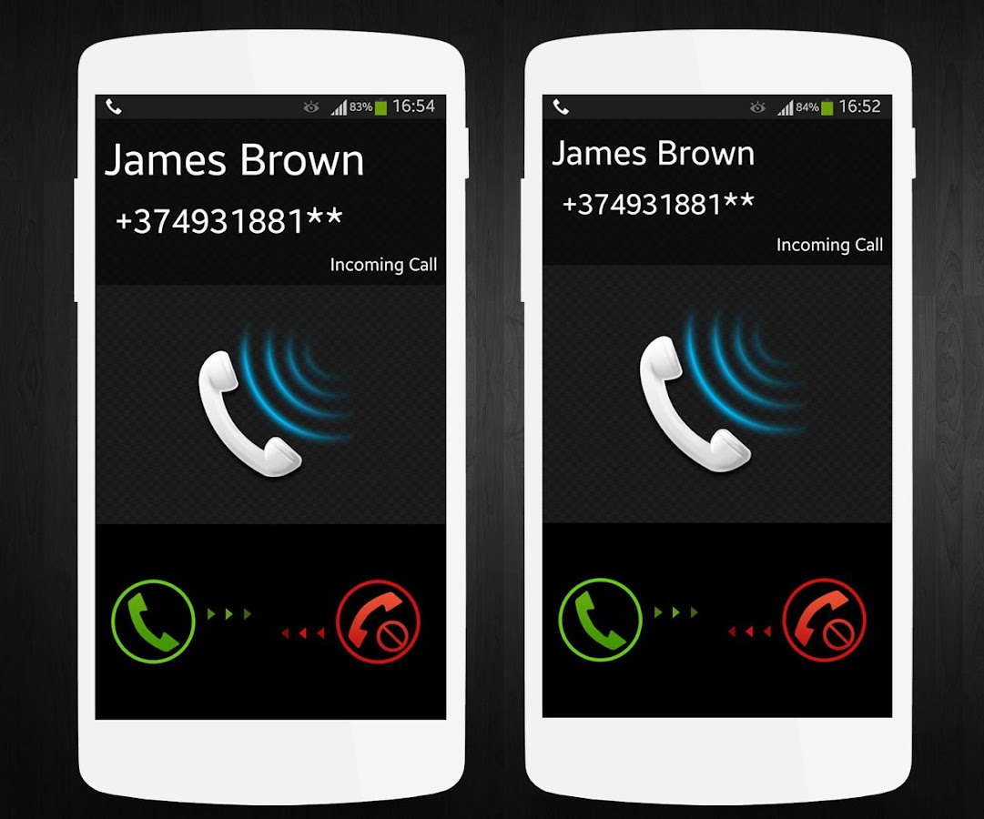 Phone Call Phone Android large call screen android apps on google play screenshot