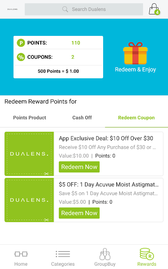Dualens- screenshot
