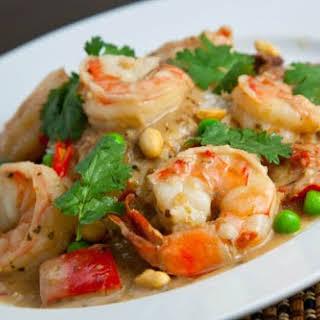 Panang Kung (Prawn Panang Curry).