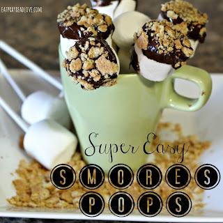 Super Easy S'mores Pops