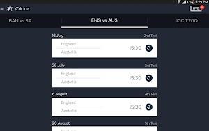 Star Sports Live Cricket Score app screenshot