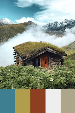 Cottage in the Clouds - Pinterest Pin item