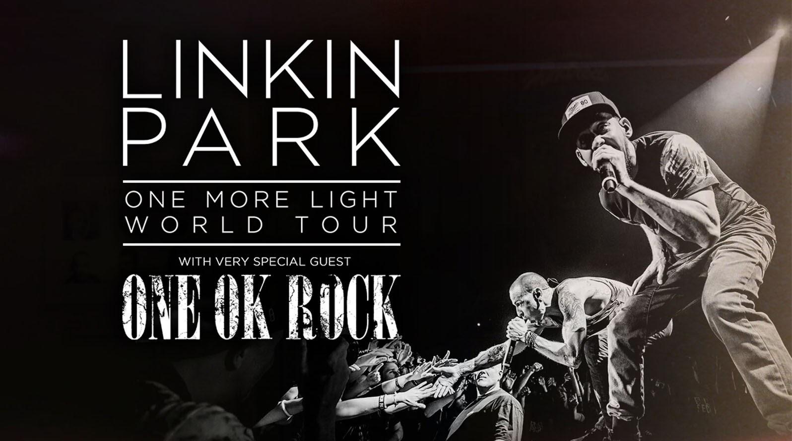 LINKIN PARK睽違四年日本公演 三天嘉賓皆為ONE OK ROCK