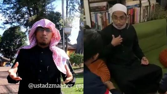 Sebut Habib Lutfhi 'Cantik' karena Netizen, Maaher Lobi Pelapor Biar Damai - Suara Jabar